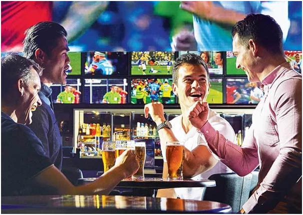 Crown Sports Bar at Perth