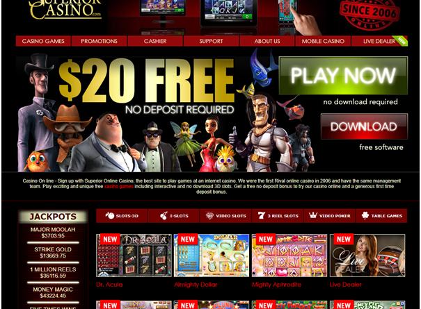 Superior Casino Pokies entertainment