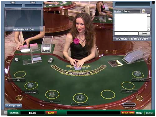 Why live casinos have beautiful live dealers to play games with you?