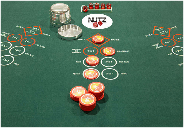 Nutz new game at Crown Casino