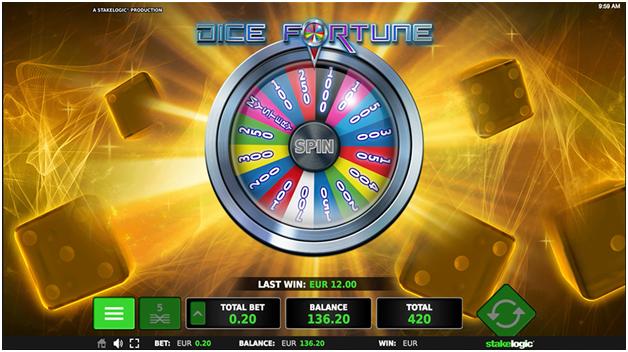 Dice Fortune game