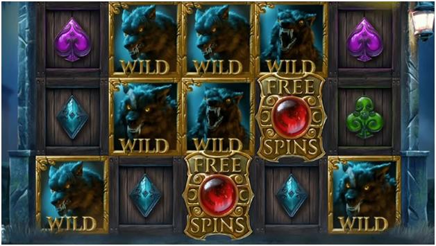 Blood Moon Wild free spins