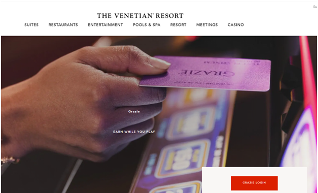 Venetian and Palazzo Casino rewards